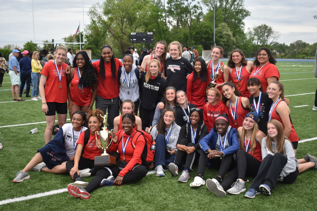 Girls Track & Field: Patriots win Inter-Ac League Championship